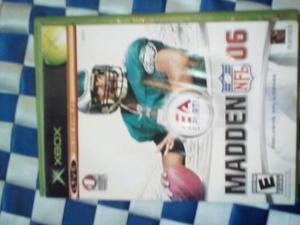 Madden Nfl 06 De Xbox Clásico