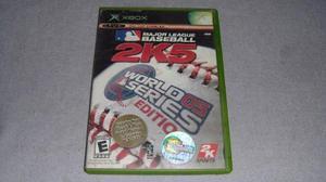 Major League Baseball 2k5 Xbox Clasico **juegazo**