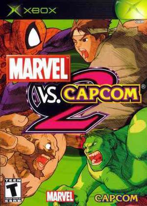 Marvel Vs Capcom 2 Xbox Clasico Usado Blakhelmet C Sp