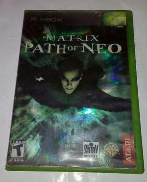 Matrix Path Of Neo Para Xbox Clasico