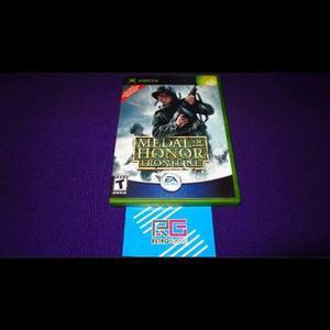 Medal Of Honor Frontline Xbox Clasico Compatible Con 360