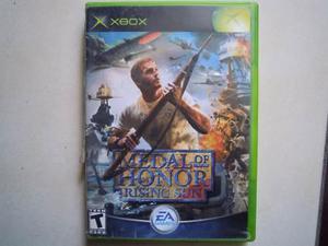 Medal Of Honor Rising Sun Videojuego Xbox