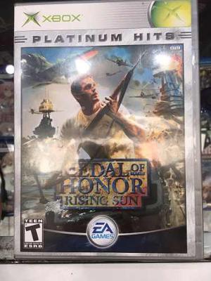 Medal Of Honor Rising Sun Xbox Clasico