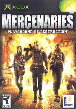 Mercenaries Playground Of Destruction Xbox Clásico