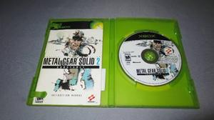 Metal Gear Solid 2 Xbox Clasico Substance