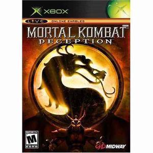 Mortal Kombat Deception Xbox Clasico Nuevo Blakhelmet Sp