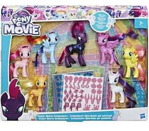 My Little Pony Movie Cutie Mark Coleccion 7 Pz Hasbro