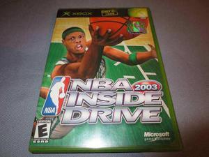 Nba Inside Drive 2003 Xbox Clasico Primera Generacion