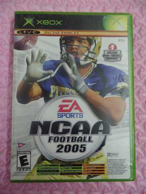 Ncaa Football 2005 Y Top Spin Juego Xbox 2 En 1