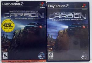 Need For Speed Carbon Play Station 2 Ps2 Retromex Tcvg