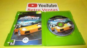 Need For Speed Hot Persuit 2 Xbox Clasico Hasta 2 Players