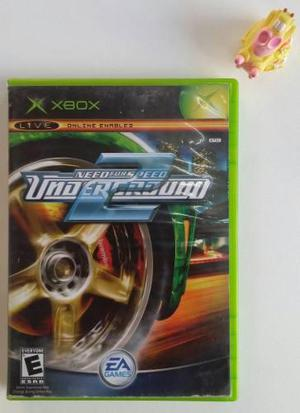 Need For Speed Underground 2 Xbox Clásico Garantizado!!