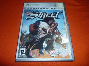 Nfl Street Para Xbox Clasico