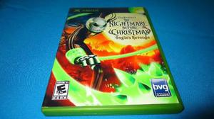 Nightmare Before Christmas Xbox Clasico *cd Muy Buen Estado*