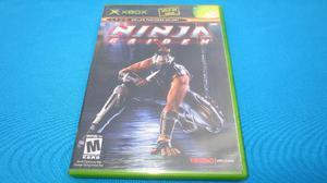 Ninja Gaiden Xbox Clasico Compatible Con Xbox 360 *excelente