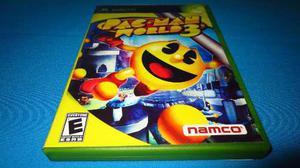 Pac Man World 3 Xbox Clasico *cd En Muy Buen Estado*