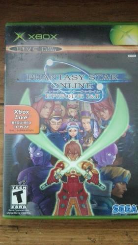 Phantasy Star Online Episode I & Ii Para Tu Xbox Clásico