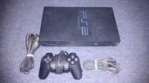 Play Station 2 Fat Modelo ,completo Funciona Perfectame