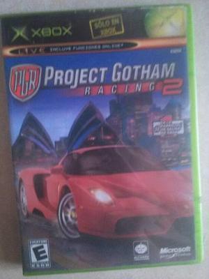 Proyect Gotam Racing Xbox Clasico Excelente