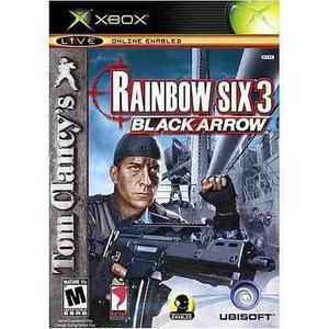 Rainbow Six 3 Black Arrow Xbox Clasico Nuevo Blakhelmet E