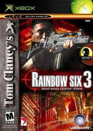 Rainbow Six 3 Para Xbox Clasico Usado Blakhelmet C