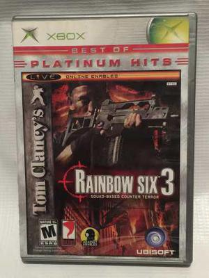 Rainbow Six 3 Xbox Clasico