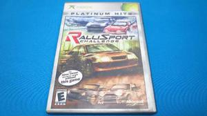 Rallisport Challenge Xbox Clasico Com Xbox 360 *cd Excelente