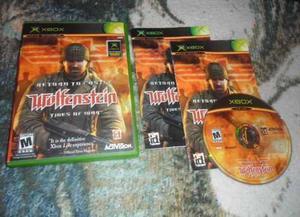 Return To Castle Wolfenstein Tides Of War Xbox Clasico