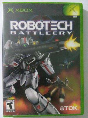 Robotech Battlecry Xbox Original Clasico Macross