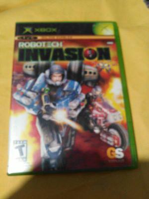 Robotech Invasion Para Xbox Clasico Excelente Estado