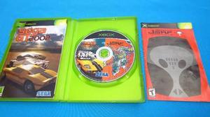 Sega Gt 2002 / Jsrf Xbox Clasico Compatible Con Xbox 360
