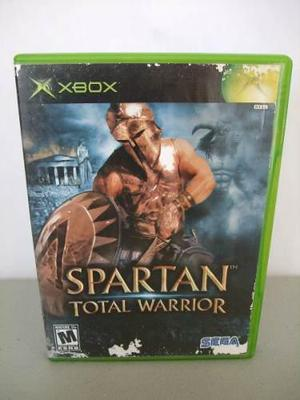 Spartan Total Warrior Xbox Clasico