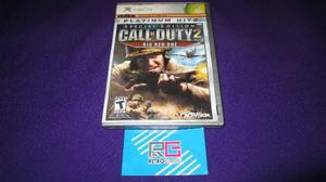 Special Call Of Duty 2 Big Red One Xbox Clasico Com Xbox 360