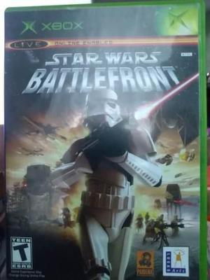 Star Wars Battlefront Para Xbox Clásico
