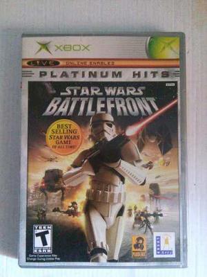 Star Wars Battlefront Xbox Clasico Original Sw Trqs