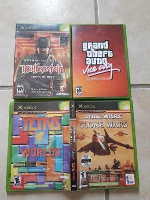 Star Wars Clone Wars Y Tetris Worlds Xbox Clásico Completo