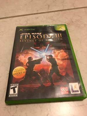 Star Wars Episode 3 Revenge Of The Sith Xbox Clásico