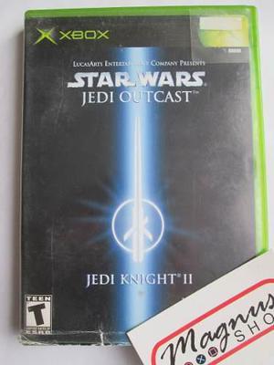 Star Wars Jedi Outcast Xbox Clasico Envio Gratis Dhl Usado