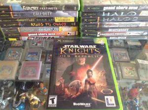 Star Wars Knights On The Old Republic. Xbox Clasico