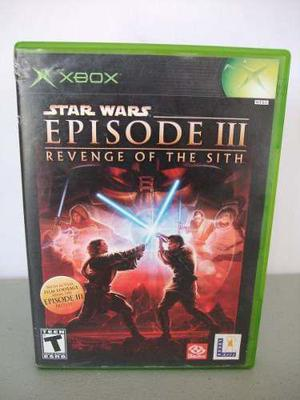 Stars Wars Episode Iii Revenge Of The Sith Xbox Clasico