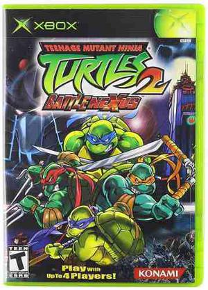 Teenage Mutant Ninja Turtles 2 Battlenexus (nuevo Sellado)