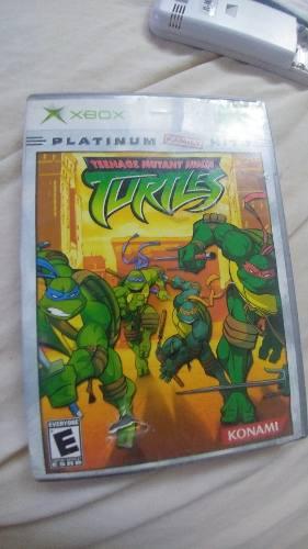 Teenege Mutant Ninja Turtles Tortugas Ninja Xbox Clasico