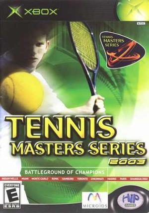 Tennis Masters Series 2003 Xbox Clásico