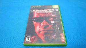 Terminator 3 Rise Of The Machine Xbox Clasico Compatible 360