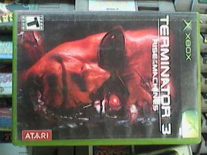 Terminator Rise Of Machines Xbox Clasico