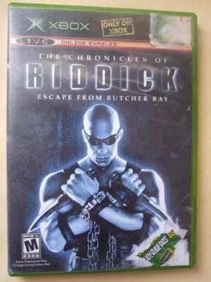 The Chronicles Of Riddick Juego Xbox