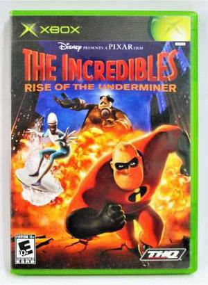 The Incredibles Rise Of Underminer Xbox Clásico Gamechieff