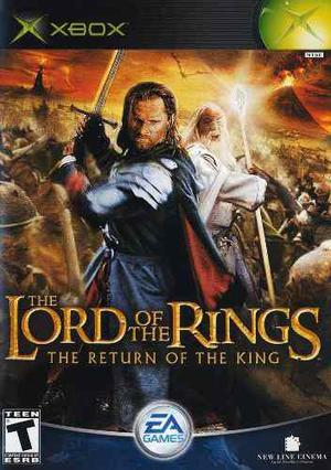 The Lord Of The Rings Return Of The King Xbox--------mr.game