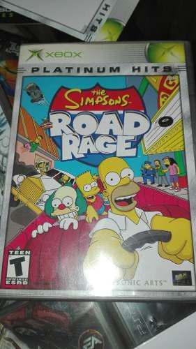 The Simpsons Road Rage Xbox