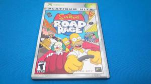 The Simpsons Road Rage Xbox Clasico Com Xbox 360 *excelente*